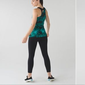 Lululemon Athletica Meshed Up Tank One Shoulder